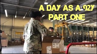 A Day As A 92Y part 1 | US Army