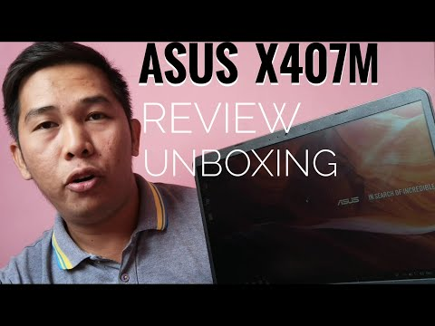 ASUS X407M LAPTOP : REVIEW / UNBOXING + GIVE AWAY