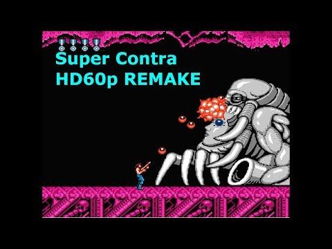Super CONTRA Remake (NES) - Classic Game TV