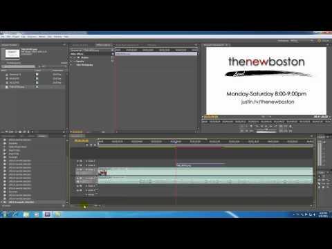 Adobe Premiere Pro Tutorial - 4 - The Timeline