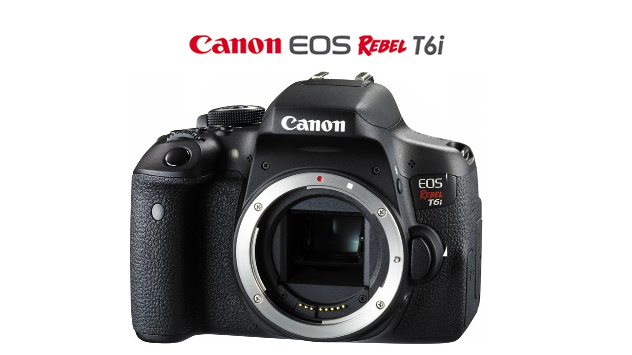 What Each Function Of The Canon T6I Or 750D DOES & How To Use Them Part 4  Video Settings
