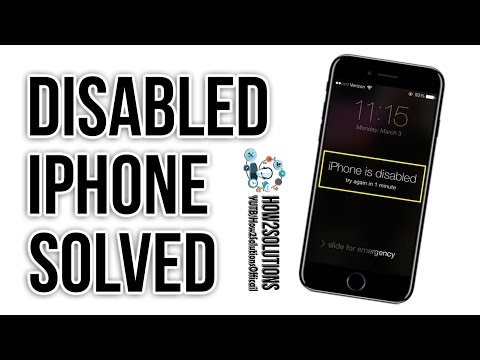How to Unlock Disabled iPhone with/without iTunes/Computer