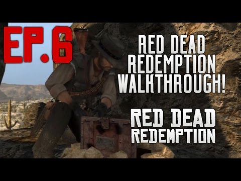 Red Dead Redemption - Treasure Hunting - Part 6 (Xbox One Walkthrough Gameplay Let's Play)