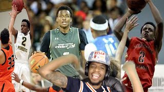 THE HESO-MELO LORD! BEST SHOOTER IN THE NATION ANTONIO BLAKENEY SENIOR MIXTAPE REACTION!