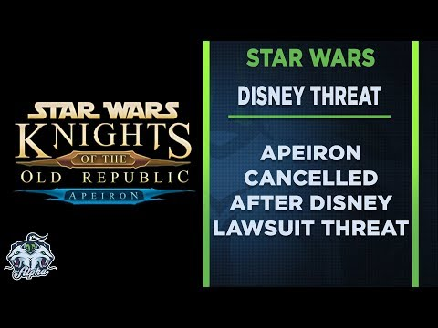Star Wars: KoToR Fan Mod Apeiron cancelled...