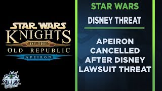 Star Wars: KoToR Fan Mod Apeiron cancelled after Disney Legal Threat