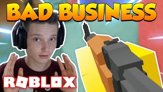 NEW Fast Paced FPS Game in ROBLOX! (Bad Business)