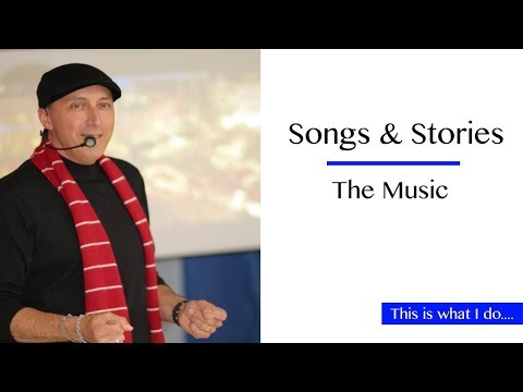 """This Is What I Do....during a """"Songs & Stories"""" program"""