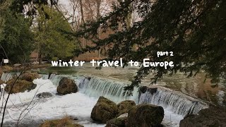 겨울 유럽 여행 2편 (파리,콜마르,슈투트가르트,뮌헨)…