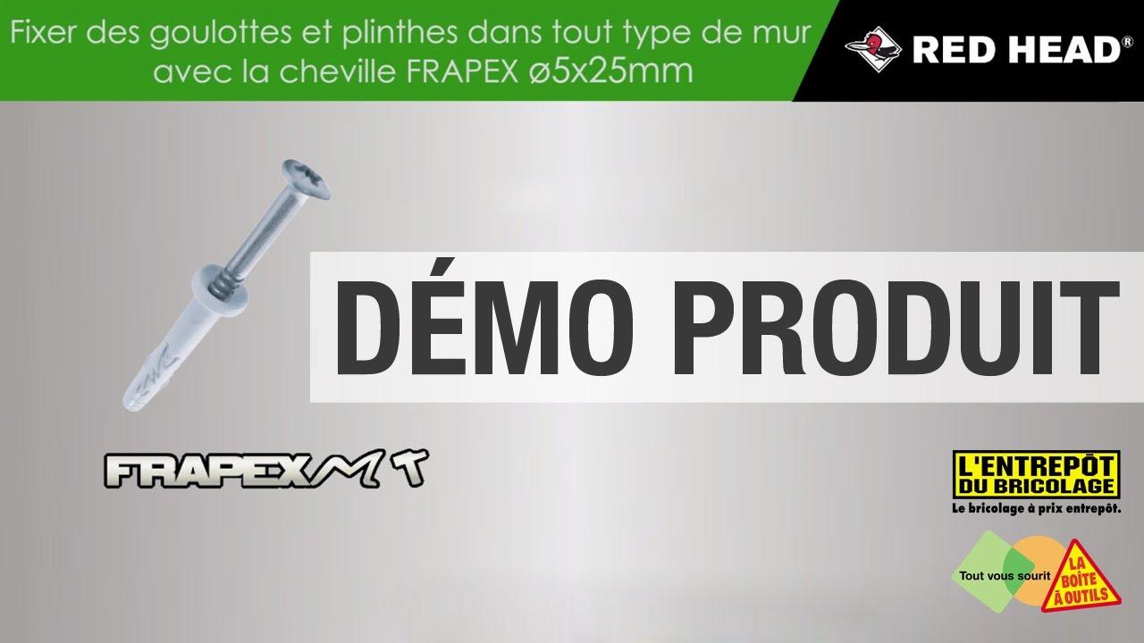 Les Demos Produit Fixer Des Goulottes Et Des Plinthes Avec La