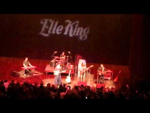 elle king - cleveland 1/29/16 - song of sorrow