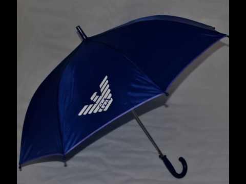 Обзор зонта-трости с прозрачным куполом - YouTube