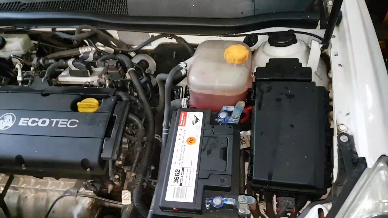 Refilling coolant opel astra holden ah