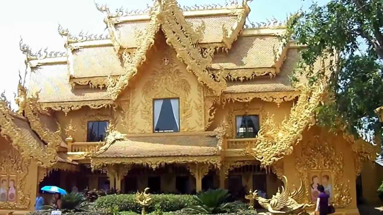 Fancy Bathroom, Chiang Rai / Pa O Don Chai, Thailand - YouTube