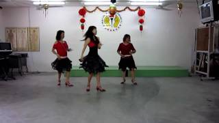 Spanish Cha by Mayee Lee. line dance (1/11/10)