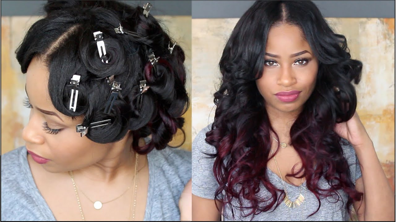 Image result for pin curls