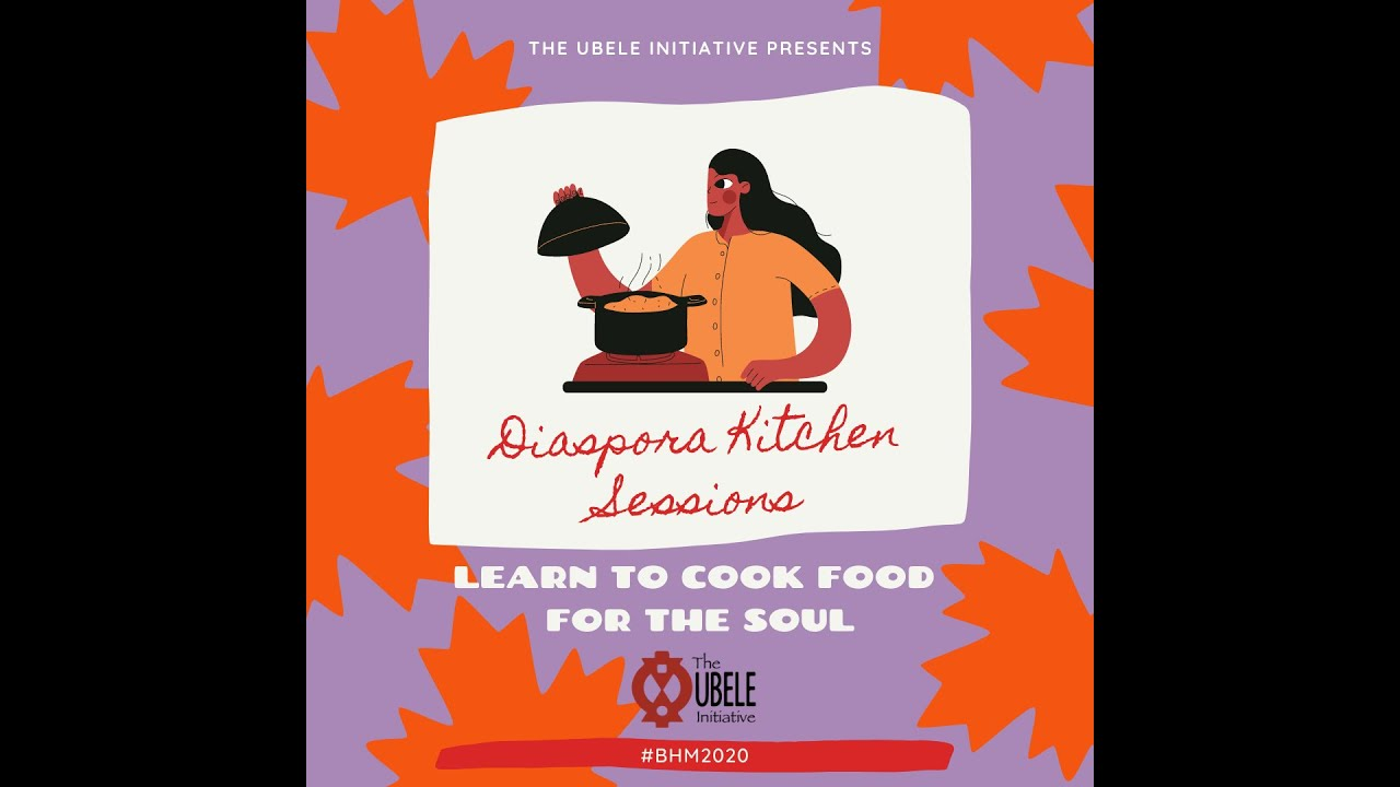 #BHM2020: Diaspora Kitchen Sessions with Safiya Robinson, Sisterwoman Vegan