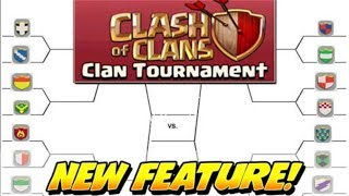 NEW UPDATE?;CLASH OF CLANS NEW CLAN TOURNAMENT| 3 NEW UPDATE CONCEPT