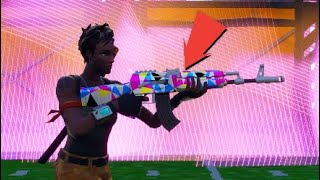 """Nouveau"" Fortnite Chromatic Weapon skin showcase / Cop or Drop?"