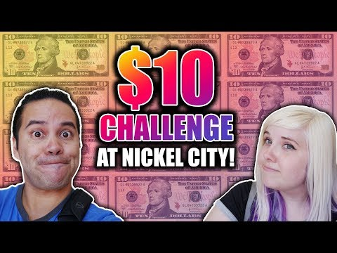 What can we win with $10 at Nickel City arcade?