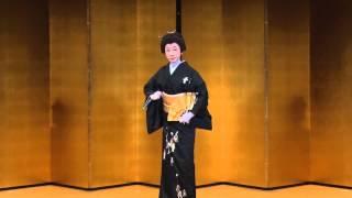 日本舞踊nihonbuyou「万歳」藤村亀吉(金子早苗)FUJIKAME