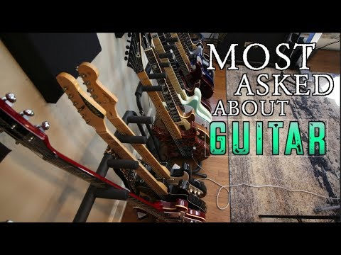 My Most Asked About Guitar!