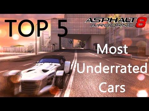 Asphalt 8: Top 5 Most Underrated Cars
