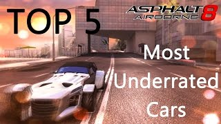 Asphalt 8: Top 5 Most Underrated Cars