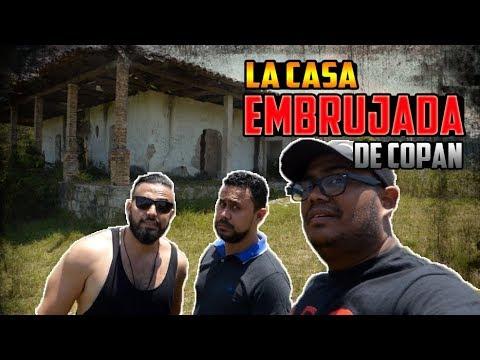 Visitando La Famosa casa embrujada de Santa Rosa de Copán | Honduras