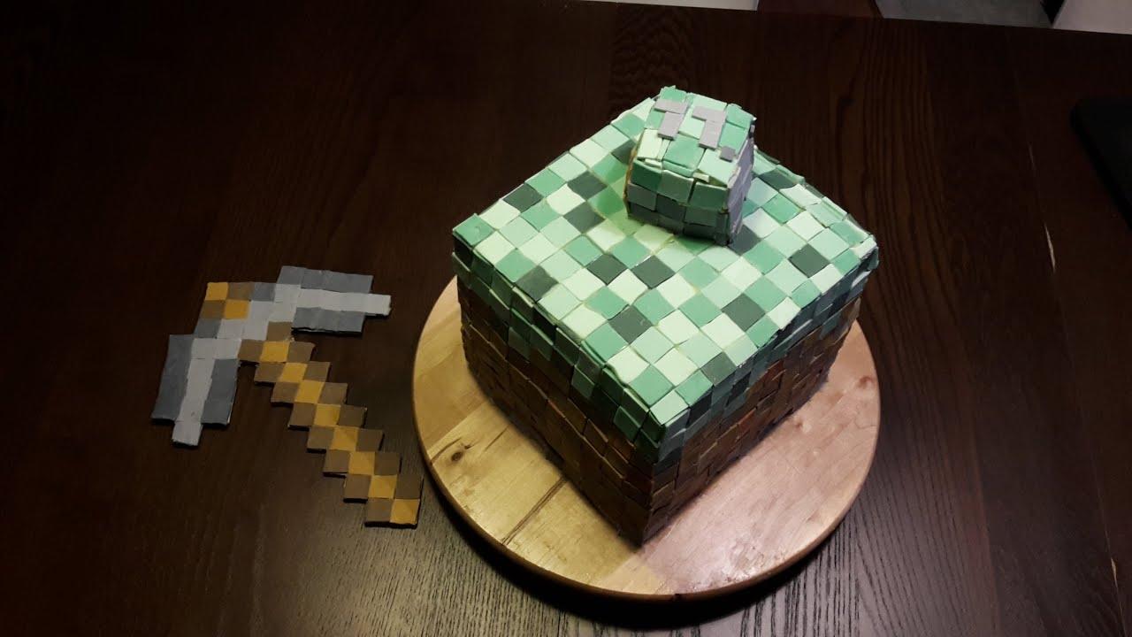 Minecraft Geburtstagskuchen  Rezepte Suchen