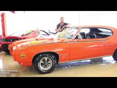 69 Pontiac Gto Judge For Sale With Test Drive Driving Sounds And