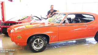 69 Pontiac GTO Judge for sale with test drive, driving sounds, and walk through video