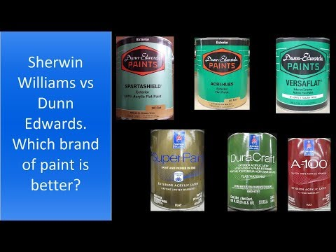 Sherwin Williams Vs Dunn Edwards Which Brand Of Paint Is Better Youtube