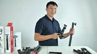 Công dụng của các loại chân máy cho điện thoại để chụp & quay video