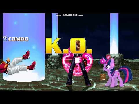 Game M.U.G.E.N  [KOF and MLP Battle] K'...