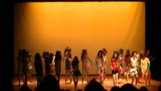 成蹊大学 DANCE TEAM JAM[z] 7月公演2010 7,いおなJazzHipHop.