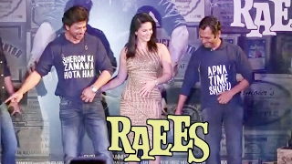 Shahrukh Khan & Nawazuddin DANCES At RAEES SUCCESS PARTY