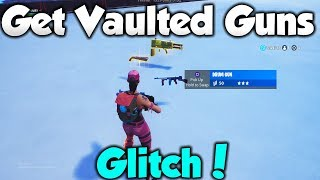 Get ANY VAULTED WEAPONS/ITEMS in PlayGround *GLITCH* Fortnite Glitches Season 8