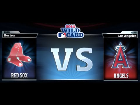 R.B.I. Baseball 14 - AL Wild Card Game: Boston Red Sox vs. Los Angeles Angels of Anaheim