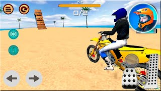 Motocross Beach Race Jumping 3D #Dirt Motor Cycle Racer Game #Bike Game for Android