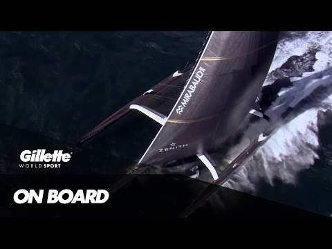 Circumnavigating the Globe with Spindrift 2 | Gillette World Sport