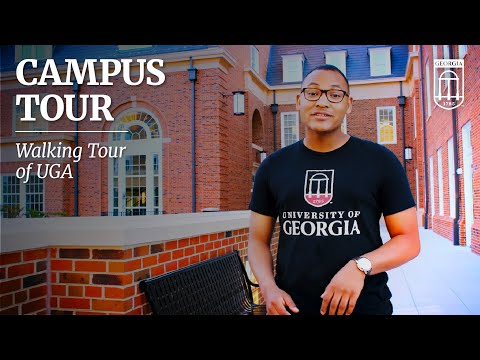 Campus Tour Of The University Of Georgia