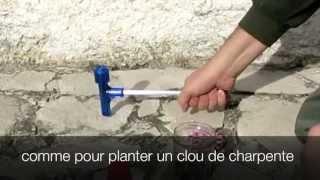Démonter une cartouche au marteau à inertie sans le casser