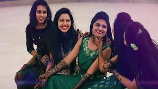 Mehndi Dance Performance by Bride &  Sisters