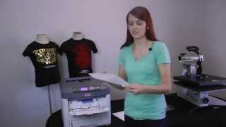 OKI 711WT Printer and Forever Laser Dark Paper Transfer System
