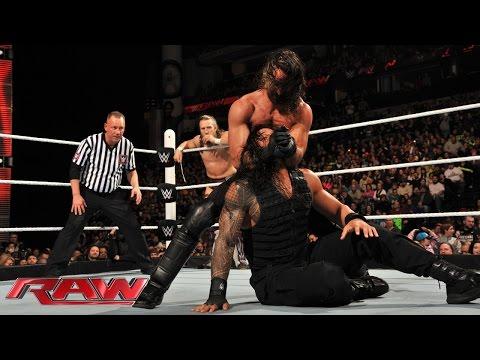 Roman Reigns & Daniel Bryan vs. Randy Orton & Seth Rollins: Raw, February 23, 2015
