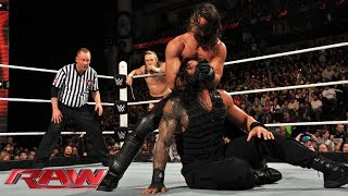 Roman Reigns & Daniel Bryan vs. Randy Orton & Seth Rollins: Raw, February 23, 2015