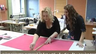 Как сшить юбку в складку.(Видео урок. Как сшить юбку в складку, от Сети ателье