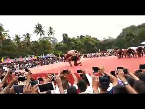 Powerful Poses Around Powerful Audience @MEG Military Camp