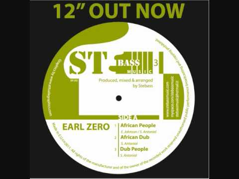 "Earl Zero - African People-Zilvy-Aba Shaka 12""- Stebass production"